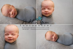 An adorably successful newborn session