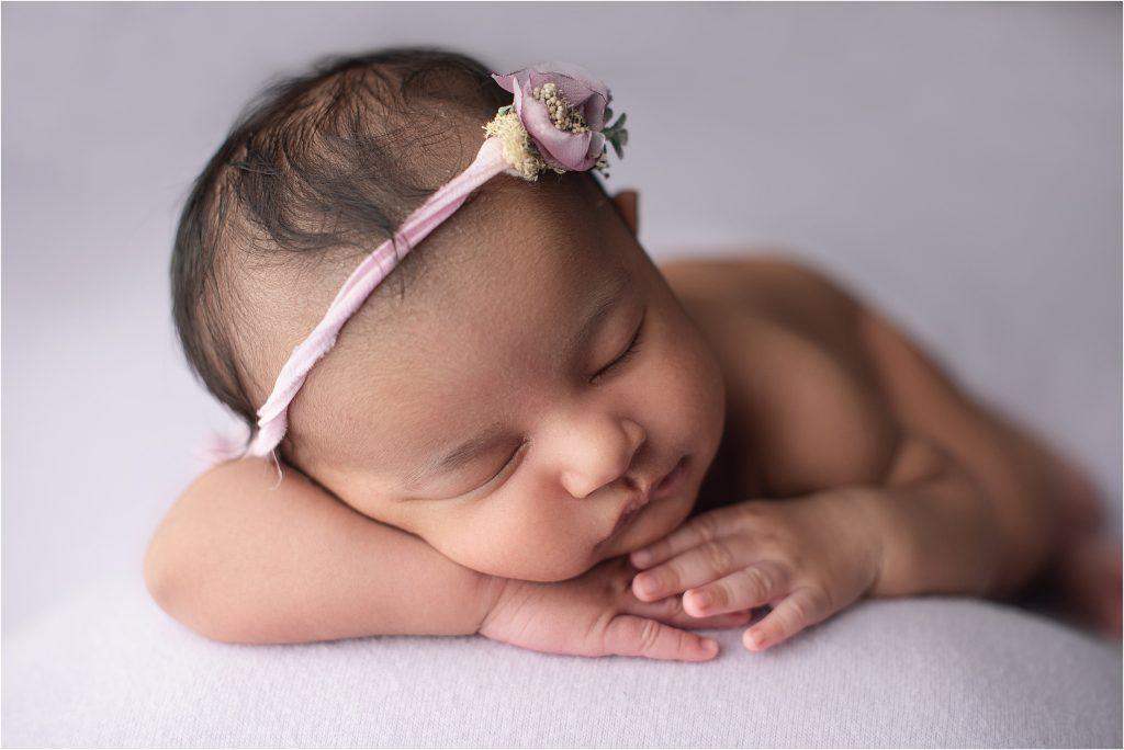 six week old baby girl
